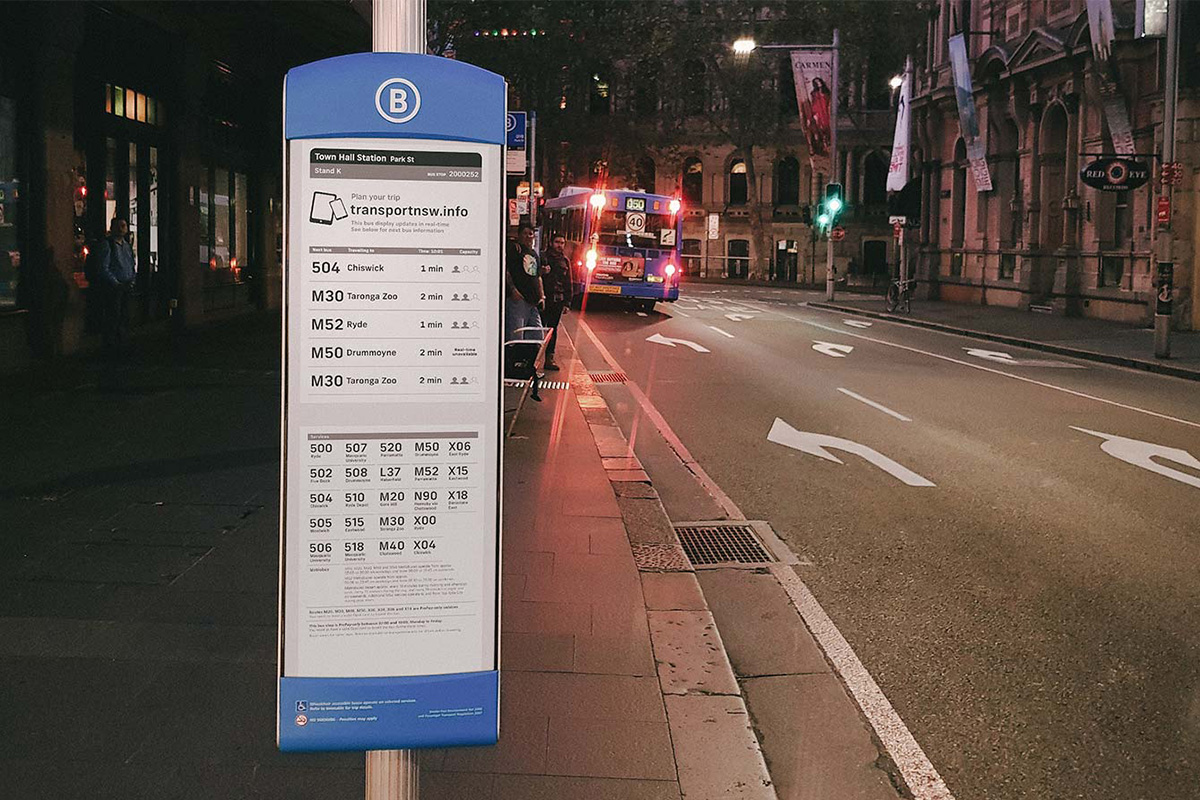 Digital bus stop designed by Mercury Innovation - Picture 2 - Inkcoming SA